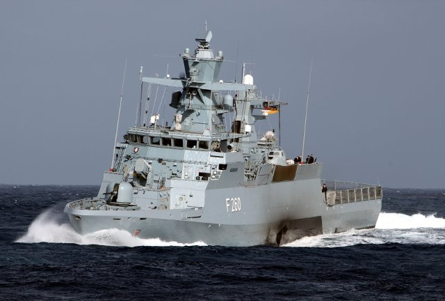 The German Navy has authorized on 3 June 2016 the use of the surface-to-surface Saab RBS-15 Mk3 missiles aboard the K130-class corvettes. This type of missiles will give the Marine the capability to engage land targets from the sea.
