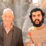نەوا موکرجی و وێنەگری مەزن (ڕەفیق مەحموود) خاوەنی (فۆتۆ ڕەفیق) لە شاری سلێمانی. فۆتۆ: ئاکار دلێر 2014