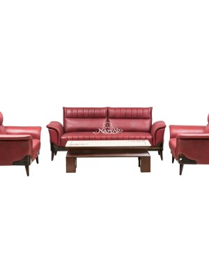 Suede fabric upholstered sofa sets