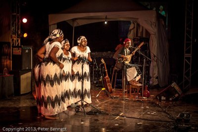 at Sauti za Busara 2013 (photo: Peter Bennett)