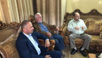 بعد اعتصام أمام الصليب الأحمر مرشحو القدس موعدنا يزورون عائلة الأسير المضرب علاء الأعرج