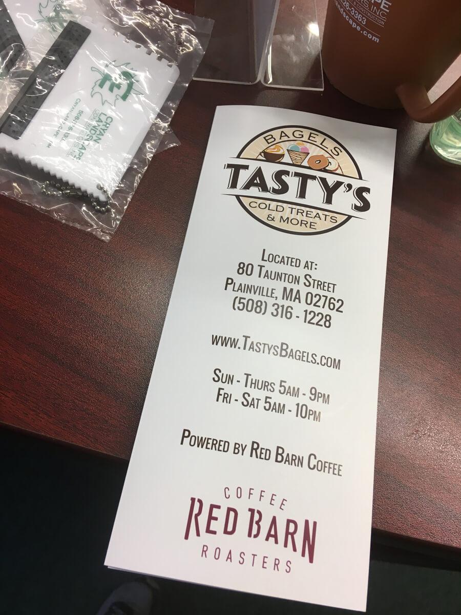 Tastys Logo // Marketing Materials