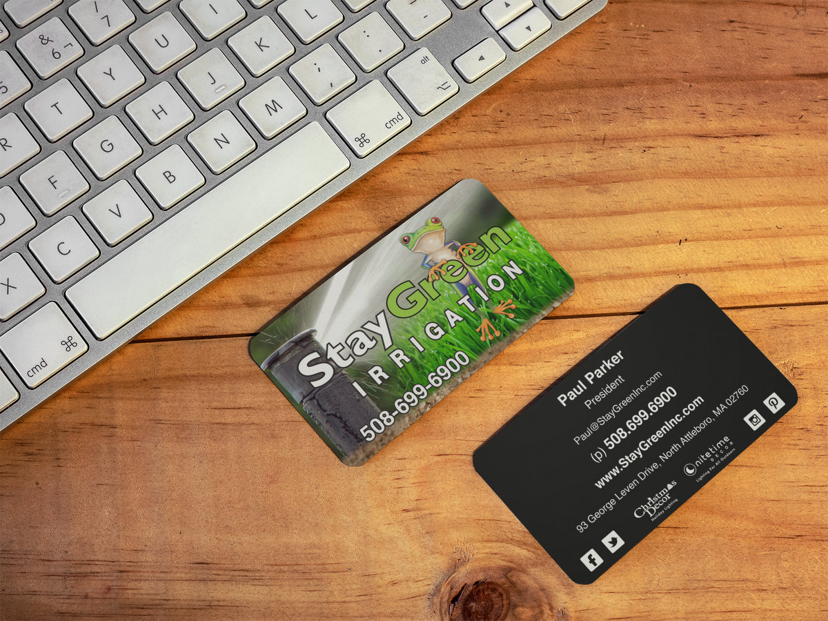 StayGreen Irrigation // Business Cards