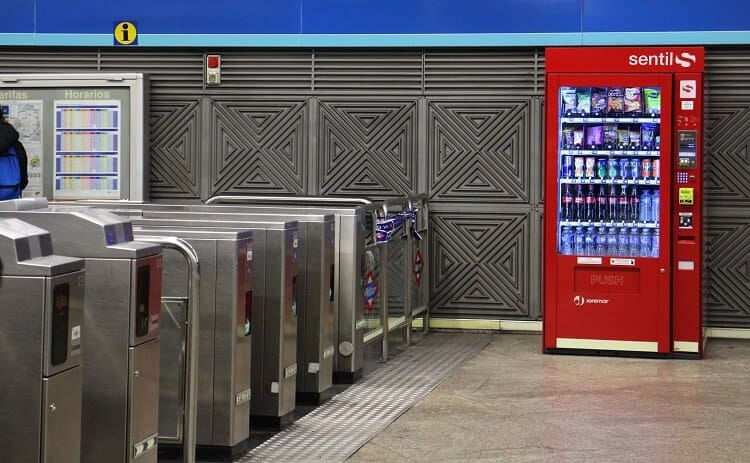 in the vending business you can see vending machines in any and every venue you can imagine