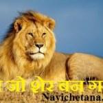 चूहा जो शेर बन गया प्रेरक हिन्दी कहानी !