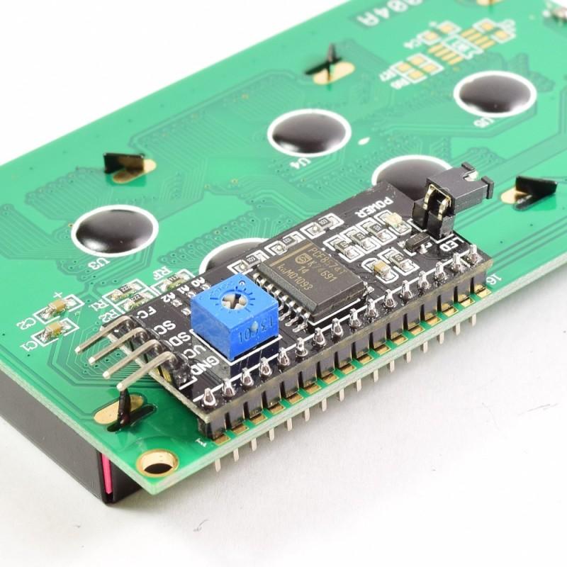 LCD 1602 con modulo i2c