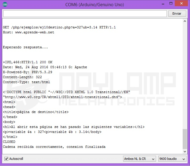 ESP8266, monitor serial 2