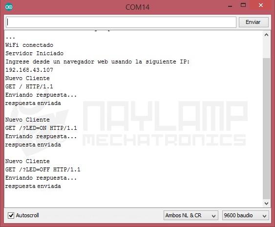 Peticion http servidor web ESP8266