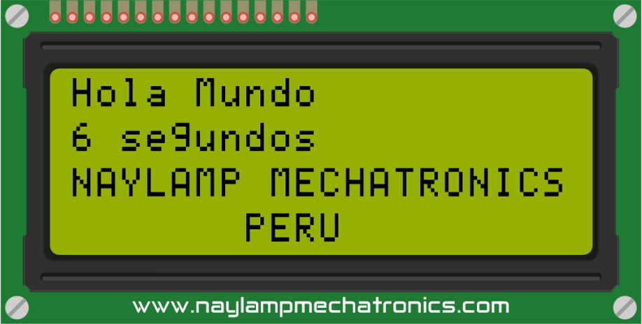 Hola munod LCD 20x4 y Arduino