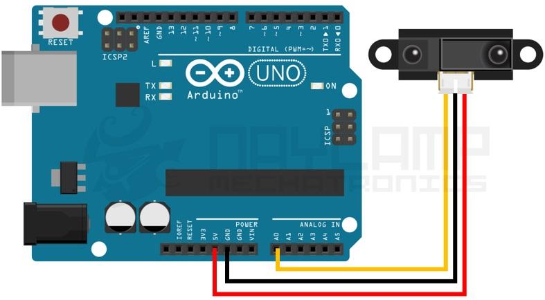 conexion SHARP y arduino