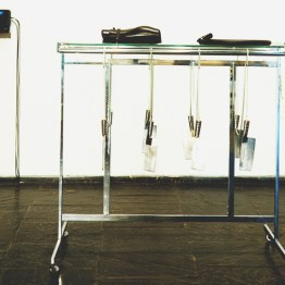 Work Station #5, 1989, mixed media, 55 x 25 x 56 inches