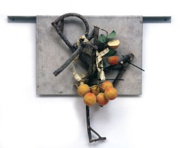 Bouquet #6, 1991, mixed media, 18 x 19 x 4 inches