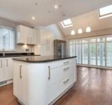 Lubenham Hill house with stylish kitchen