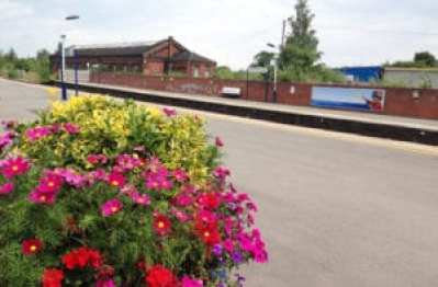 Harborough train station