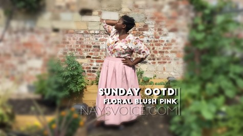 naysvoice plus size pink floral outfit