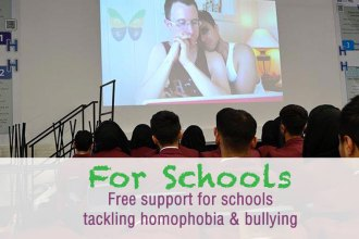 Free support for schools tackling homophobia & bullying