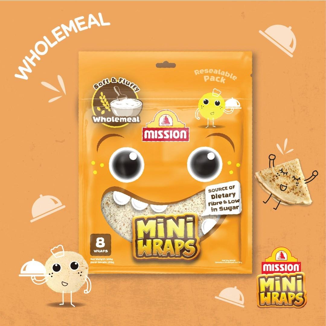 Mini Wraps Wholemeal