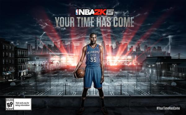 Kevin Durant Announced as NBA 2K1539s Cover Athlete NLSC