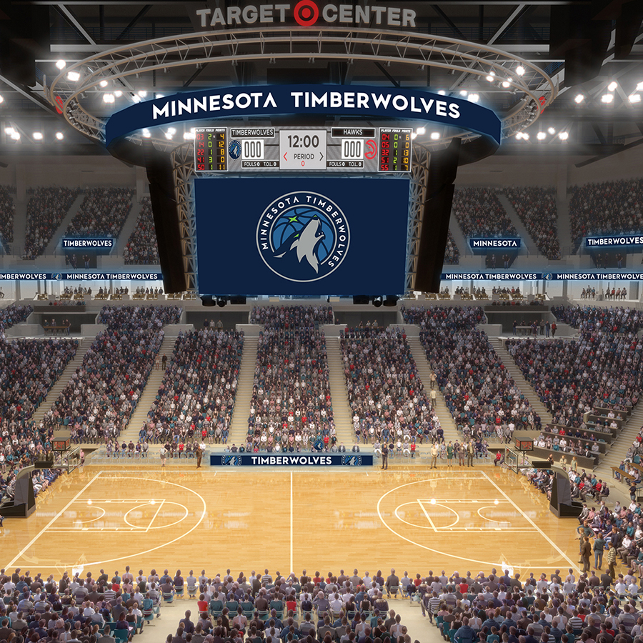 New Era New Digs Tour The Reimagined Target Center  Minnesota Timberwolves