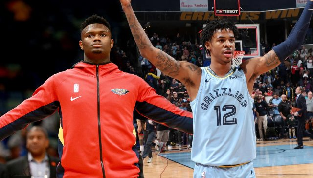 MikeCheck: Grizzlies coping with absences and injuries in first matchup of  NBA top picks Morant, Williamson | Memphis Grizzlies