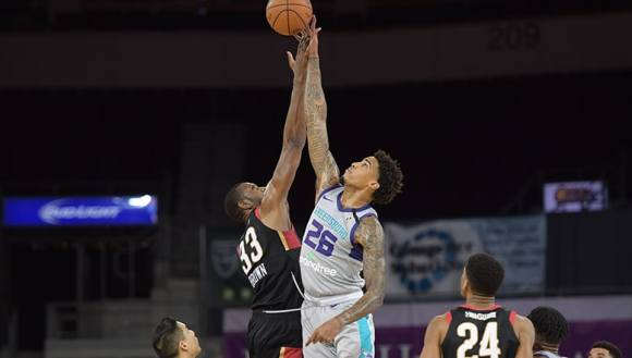Season Recap: Ray Spalding Stands Out in Short Stint with Greensboro |  Charlotte Hornets