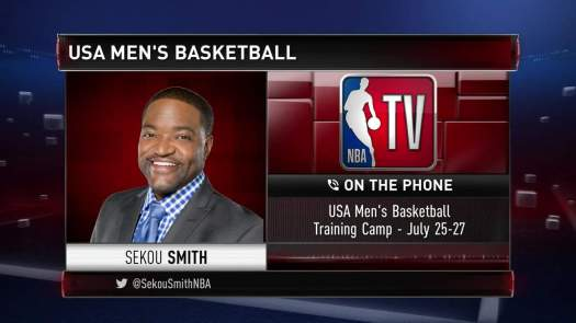 Will Kawhi, LeBron, And Steph Compete? Sekou Smith Speaks ...