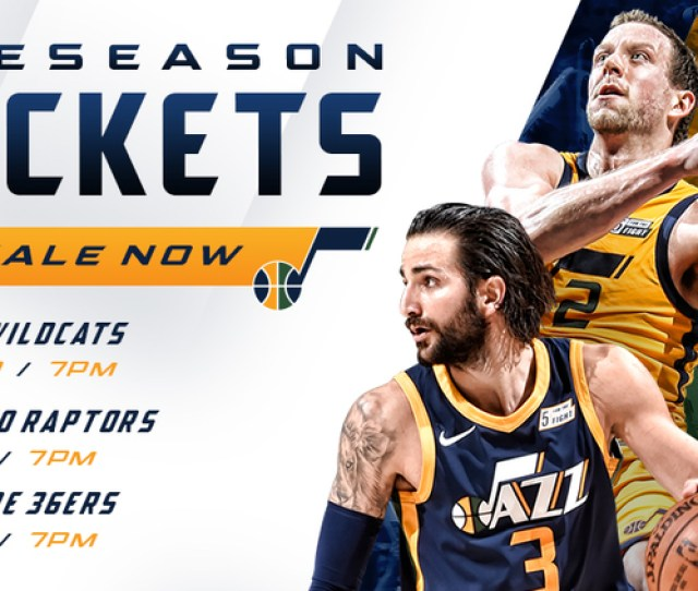 Utah Jazz Announce 2018 Preseason Schedule