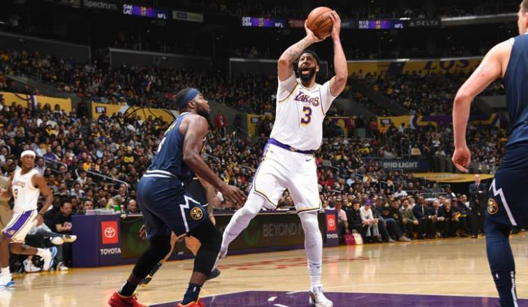 Running Diary Nuggets 128 Lakers 104 Los Angeles Lakers