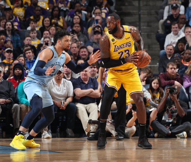 Photos Lakers Vs Grizzlies  Los Angeles Lakers
