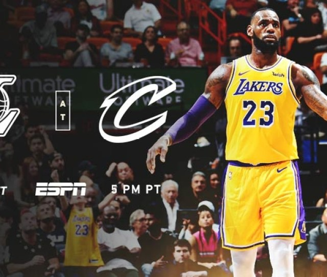The King Returns To Cleveland Lakers Vs Cavs On Espn