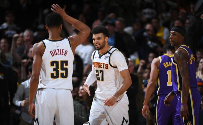 Photo Gallery Denver Nuggets Vs Los Angeles Lakers