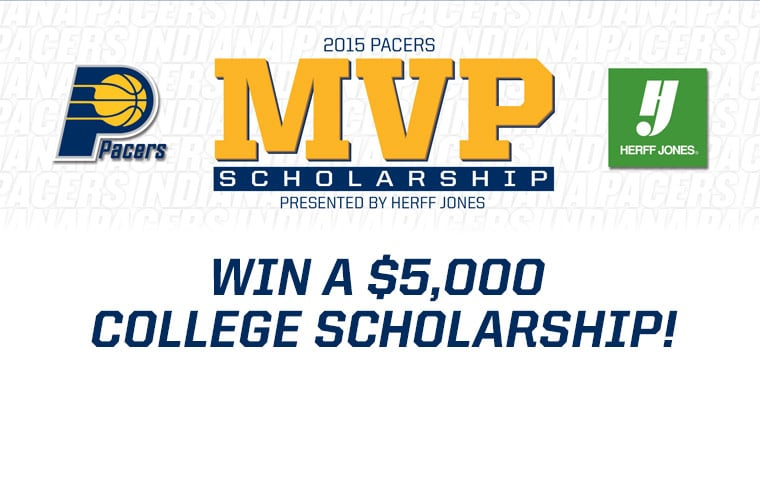 pacers mvp scholarship presented