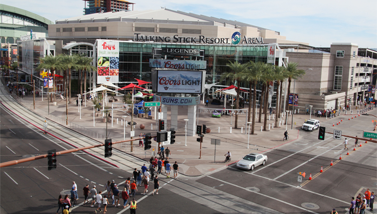 Talking Stick Resort Arena Will Welcome Its 40 Millionth