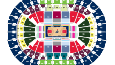 seating chart also wizards ticket center washington rh nba