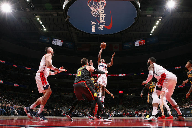 Wizards back at home for friday night game with hawks washington also rh nba
