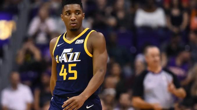 Donovan Mitchell, NBA, Utah Jazz
