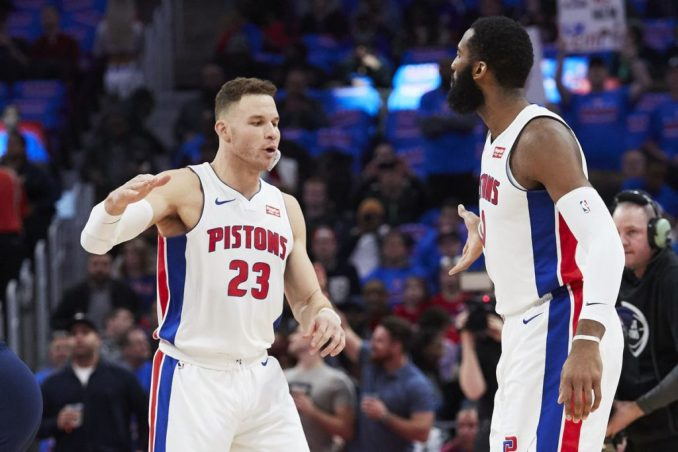 Blake Griffin, Andre Drummond, Detroit Pistons, NBA