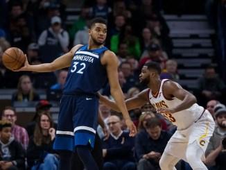 Karl-Anthony Towns, Tristan Thompson, Minnesota Timberwolves, Cleveland Cavaliers, NBA