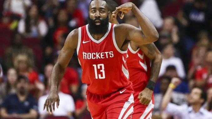 James Harden, Nuggets, Rockets
