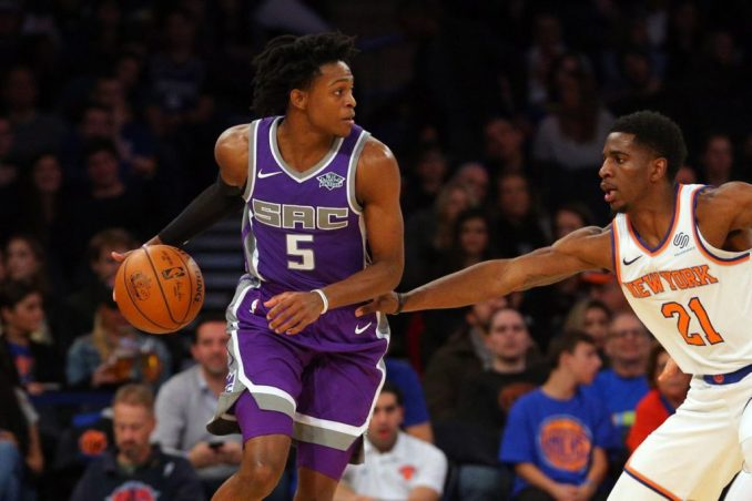 De'Aaron Fox, NBA, Sacramento Kings