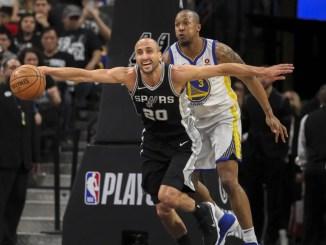 Manu Ginobili, NBA, San Antonio Spurs