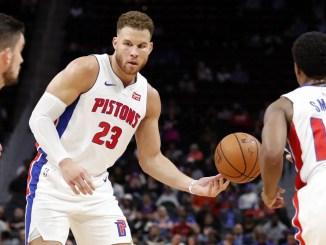 Blake Griffin, Ish Smith, Detroit Pistons