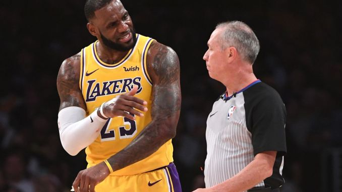 LeBron Jame, Los Angeles Lakers
