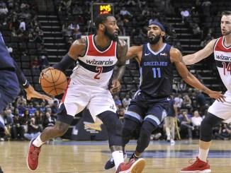 John Wall, Washington Wizards, Mike Conley, Memphis Grizzlies