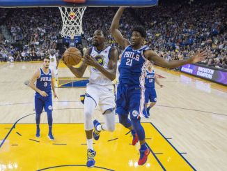 Golden State Warriors, Kevin Durant, Philadelphia 76ers, Joel Embiid