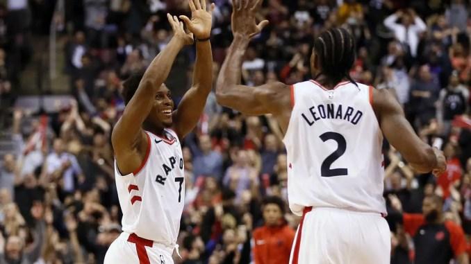 Kawhi Leonard, Kyle Lowry, Toronto Raptors