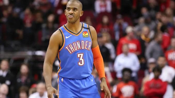Chris Paul, Oklahoma City Thunder, Phoenix Suns, Lakers, Knicks