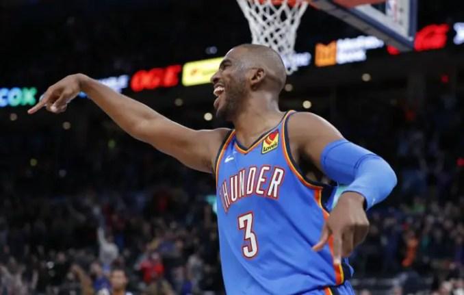 Chris Paul, Knicks, Thunder
