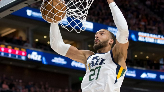 Rudy Gobert, Jazz, Celtics