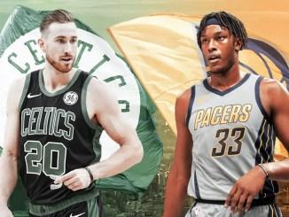 Gordon Hayward, Myles Tuner, Celtics, Pacers